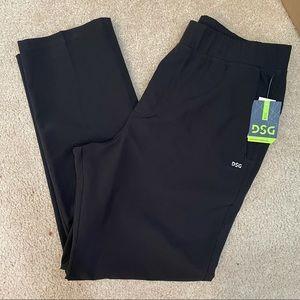 DSG black Everyday Commuter Pants size Large